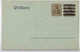 DR P85 Postkarte 1908  Kat. 10,00 € - Stamped Stationery