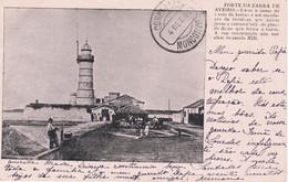 POSTCARD PORTUGAL - AVEIRO - FORTE DA BARRA DE AVEIRO - LIGHTOUSE - Aveiro