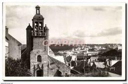 CPSM Audierne La Vieille Eglise - Audierne
