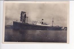 CRO2196  --  S / S  ,, NEMANJA ,,  JUGOSLAVENSKI LLOYD  --    SHIP, DAMPFER  --  REAL PHOTO PC  --  1937 - Croatie
