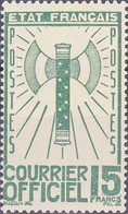 France Timbre Service 15F  N° 14 Année 1943 Neuf - Neufs