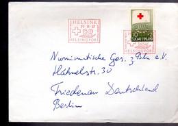 FINLAND RED CROSS 1957 +  Helsinki - Briefe U. Dokumente