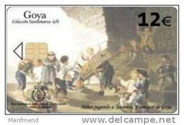 Spain - 2007 - Mar:B-136 - 12 EURO - Telefonica - Goya 6/6 - Used - Pintura