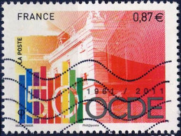 4563 OCDE   OBLITERE ANNEE 2011 - 2010-.. Matasellados