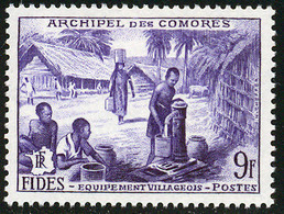 Comores 1956 Yvert 14 ** TB FIDES - Unused Stamps