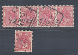 """TIMBRES OBLITERES """" ARNHEM -ZWOLLE"""". - Used Stamps"""