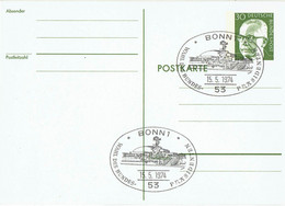 Germany - Ganzsache Postkarte Sonderstempel / Postcard Special Cancellation (f923) - Postales - Usados