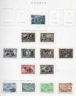 95259) RUSSIA -LOTTO DI FRANCOBOLLI -USATI-MLH*-1942-43 - Used Stamps