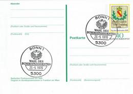 Germany - Ganzsache Postkarte Sonderstempel / Postcard Special Cancellation (f925) - Postales - Usados