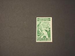 VATICANO - 1935 GIURIDICO 25 C. - NUOVO(++) - Unused Stamps