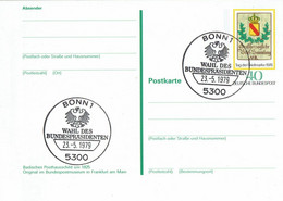 Germany - Ganzsache Postkarte Sonderstempel / Postcard Special Cancellation (f925) - Postales Ilustrados - Usados