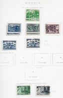 95260) RUSSIA -LOTTO DI FRANCOBOLLI -USATI-MLH*-1942-43 - Used Stamps