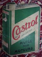 Notice : CASTROL Huuile Pour Moteurs (+ Grades Militaires Et Insignes Chantiers De Jeunesse) - Publicidad