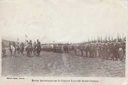 Maroc )    OUEZZAN  OUAZZANE - Revue Des Troupes Par Le Général Lyautey Devant Ouezan - Andere