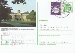 Germany - Ganzsache Postkarte Echt Gelaufen / Postcard Used (f928) - Postales Ilustrados - Usados
