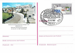 Germany - Ganzsache Postkarte Sonderstempel / Postcard Special Cancellation (f929) - Postales Ilustrados - Usados