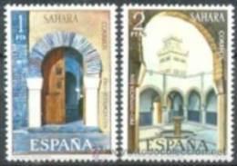 SAHARA 1974 - PRO INFANCIA Y MEZQUITAS - EDIFIL 314-315 - Sahara Español