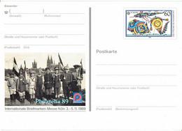 Germany - Ganzsache Postkarte Ungebraucht / Postcard Mint (f932) - Postales Ilustrados - Nuevos