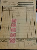 Luxembourg Lettre De Voiture, Cachet Rodange. - Covers & Documents
