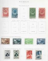 95262) RUSSIA -LOTTO DI FRANCOBOLLI -USATI-MLH*-1943- - Used Stamps
