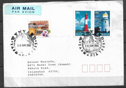 USED AIR MAIL COVER  AUSTRALIA TO PAKISTAN - Other