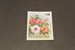 K14910- Stamp I-  MNH Barbuda -1975-  $10 - Hibiscus - Other