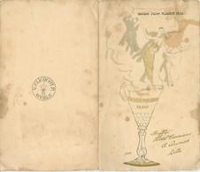 Menu Veuve Clicquot Ponsardin Reims Par SEM, 1923, Buffet Hôtel Terminus A. Dulmas LILLE - Menus