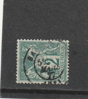 SAGE N° 74 TYPE IIA   -  CACHET A DATE  MARS 1877 - REF 5211 - 1876-1898 Sage (Tipo II)