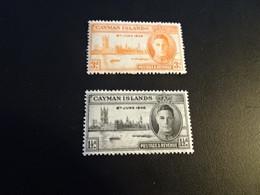 K44683 - Set MNH Cayman Islands 1946 - KinG George - Victory Issue - Kaimaninseln