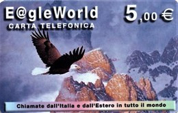 *ITALIA* - Scheda Usata - Águilas & Aves De Presa