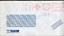 Argentina - 1997 - Lettre - Courrier Privé CASE SA - Circulé - Envoyé En Buenos Aires - Telecom - A1RR2 - Cartas