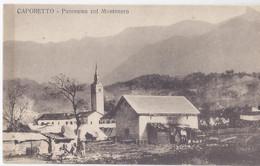 Caporetto - Ora Slovenia - Panorama Col. Montenero 1915 Ca - Slovenia
