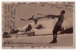 8473 - Patinage Acrobatique ( Suisse ) - L'Aéroplane - - Patinaje Artístico