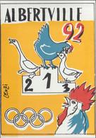 France Postcard 1992 Albertville Olympic Games - Mint (G125-53) - Inverno1992: Albertville