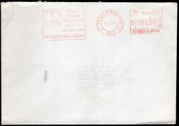 Argentina - 1993 - Lettre - Cachet Spécial - Affranchissement Mécanique - Bandeleta Parlante - A1RR2 - Cartas