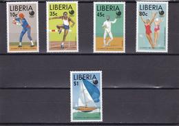 Liberia Nº 1100 Al 1104 - Liberia