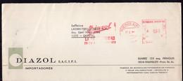 Argentina - Circa 1990 - Lettre - Cachet Spécial - Affranchissement Mécanique - Diazol SACIFI - A1RR2 - Cartas