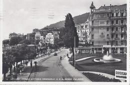 Abbazia - Croazia - Corso Vittorio Emanuele III E Albergo Palazzo 1941 - Croatie