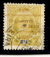! ! Mozambique Company - 1898 Elephants Coat Of Arms OVP Vasco Gama 2 1/2 R - Af. 29 - Used - Mozambique
