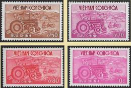 VIET NAM Du Sud  Vietnam  1961 - YT 153 à 156 La Série Agriculture - NEUFS** - Vietnam