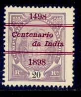 ! ! Mozambique Company - 1898 Elephants Coat Of Arms OVP Vasco Gama 20 R - Af. 33 - NGAI - Mozambique