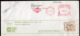 Argentina - 1992 - Lettre - Cachet Spécial - Affranchissement Mécanique - Grerardo Ramon & Cia - GRAMON - A1RR2 - Cartas