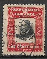 PANAMA 1906 SERIE ORDINARIA PERSONAGGI YVERT. 91 USATO VF - Panamá