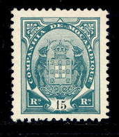 ! ! Mozambique Company - 1907 Elephants Coat Of Arms 15 R - Af. 51 - MH - Mozambique