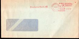 Argentina - 1992 - Lettre - Cachet Spécial - Affranchissement Mécanique - Deutsche Bank AG - A1RR2 - Cartas