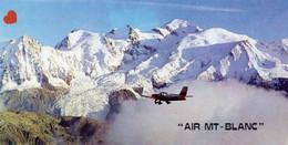"""42502-ZE-74-SURVOL DU MASSIF DU MONT-BLANC AVEC """"AIR MONT-BLANC""""-COMPAGNIE AERIENNE DES PAYS DU MONT-BLANC - Chamonix-Mont-Blanc"""