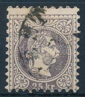 "O 1867 25kr Nagy Vízjel Darabbal ""(PE)ST"" - Unclassified"