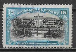 PANAMA 1942 SERIE ORDINARIA YVERT. 238 USATO VF - Panamá