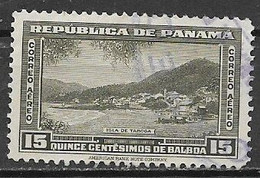 PANAMA 1942  POSTA AEREA SERIE ORDINARIA YVERT. 73  USATO VF - Panamá