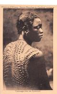 Burkina Faso Ancien Haute-Volta Tatouage (scarifications) Chez Les Syamous  Peul Peulh Peuhl  N° 1 \ML4021 - Burkina Faso